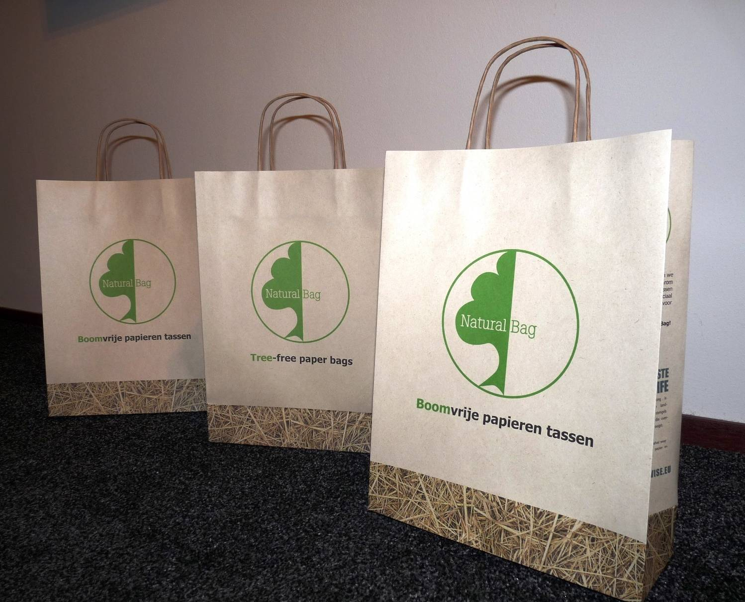 Natural Bag - Boomvrije papieren tas 4